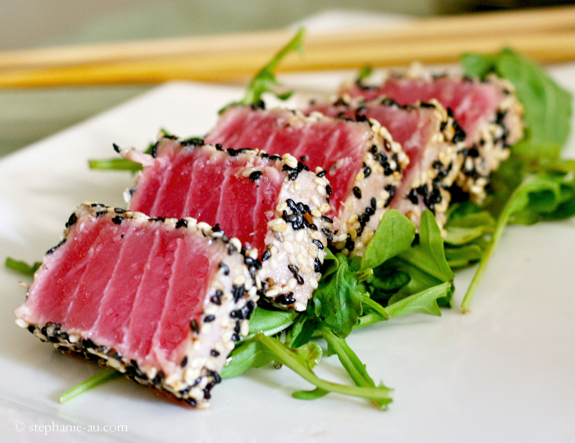 Seasame Seared Tuna – El Gran Escape